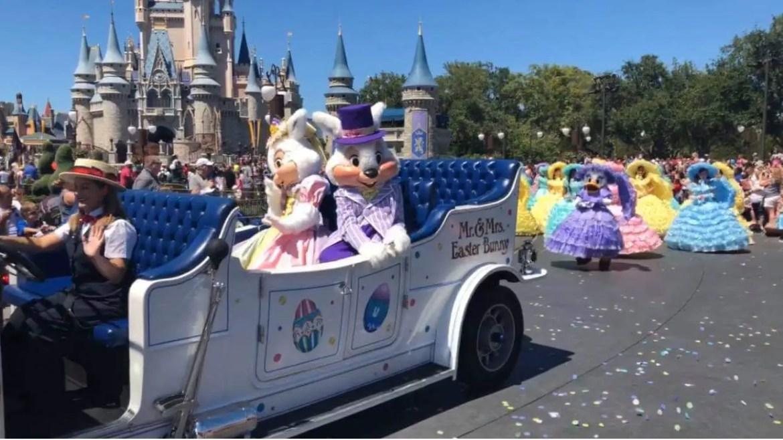 Disney History: Remembering the 2019 Easter Parade at Magic Kingdom