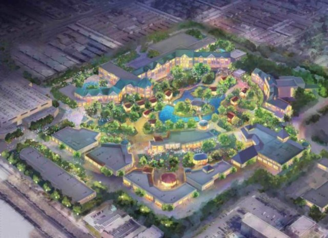 What is Disneyland Forward Expansion Project? 3