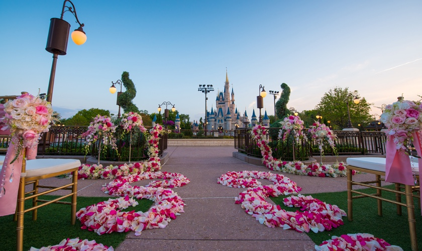 5 Perfect Springtime Locations You Can Get Married At Disney World