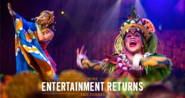 """Rehearsals have begun for Disney's Animal Kingdom """"A Celebration of Festival of the Lion King"""""""