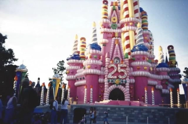The Magical Makeovers of Magic Kingdom's Cinderella Castle 2