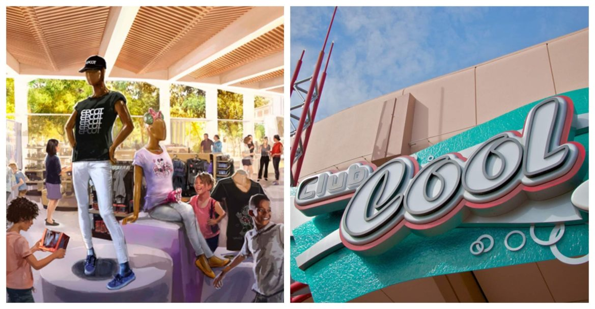 Creations Shop And Club Cool Are Coming to Epcot This Summer!