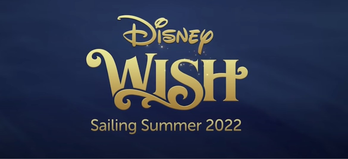 Bookings are now open for the Disney Wish Inaugural Cruise Season