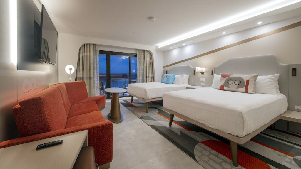 Incredible New Rooms At The Contemporary Resort!