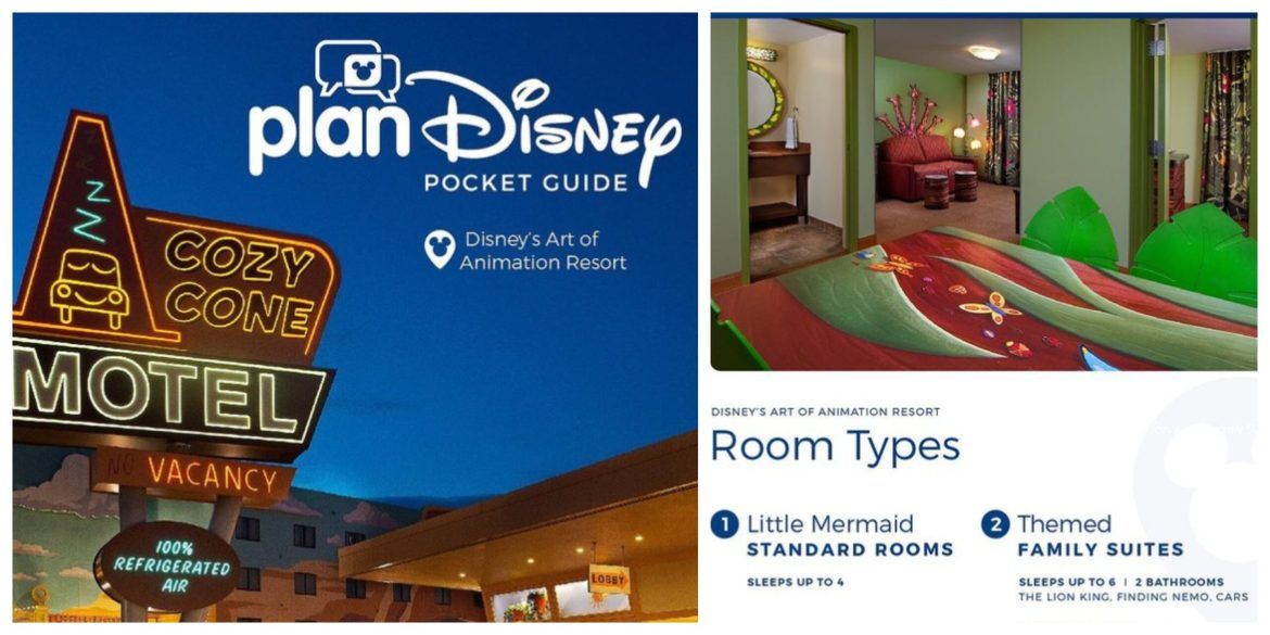 planDisney Introduces Disney Resort Pocket Guides to help plan your Stay