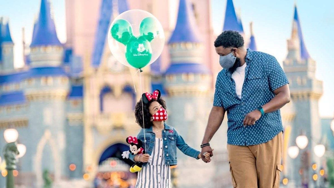 When do you have to wear Face Masks at the Disney Theme Parks