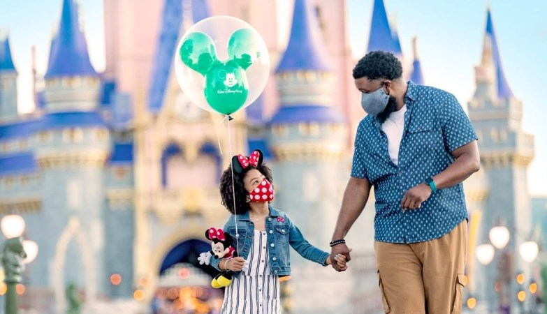 When do you have to wear Face Masks at the Disney Theme Parks 1