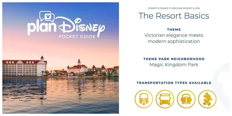 Disney's Grand Floridian Resort & Spa planDisney Pocket Guide