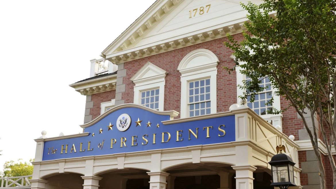 The Hall of Presidents Reopens at Disney World Next Month