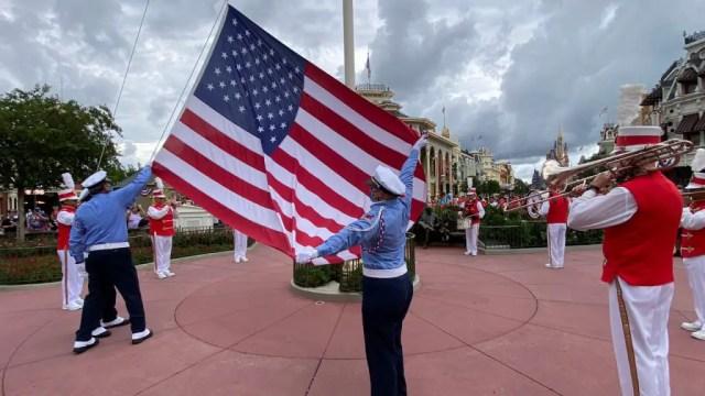patriotic at Disney