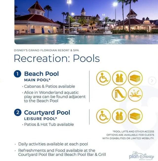 Disney's Grand Floridian Resort & Spa planDisney Pocket Guide 3