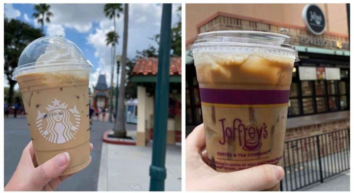 Where to get coffee at Disney World