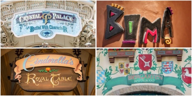 New Restaurants Reopening At Walt Disney World!