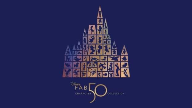 """Full List of Every """"Fab 50"""" Character Statue location for Disney World 1"""