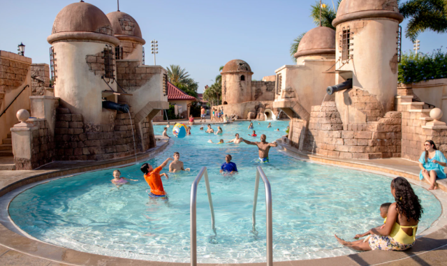 Disney's Caribbean Beach Resort planDisney Pocket Guide 3