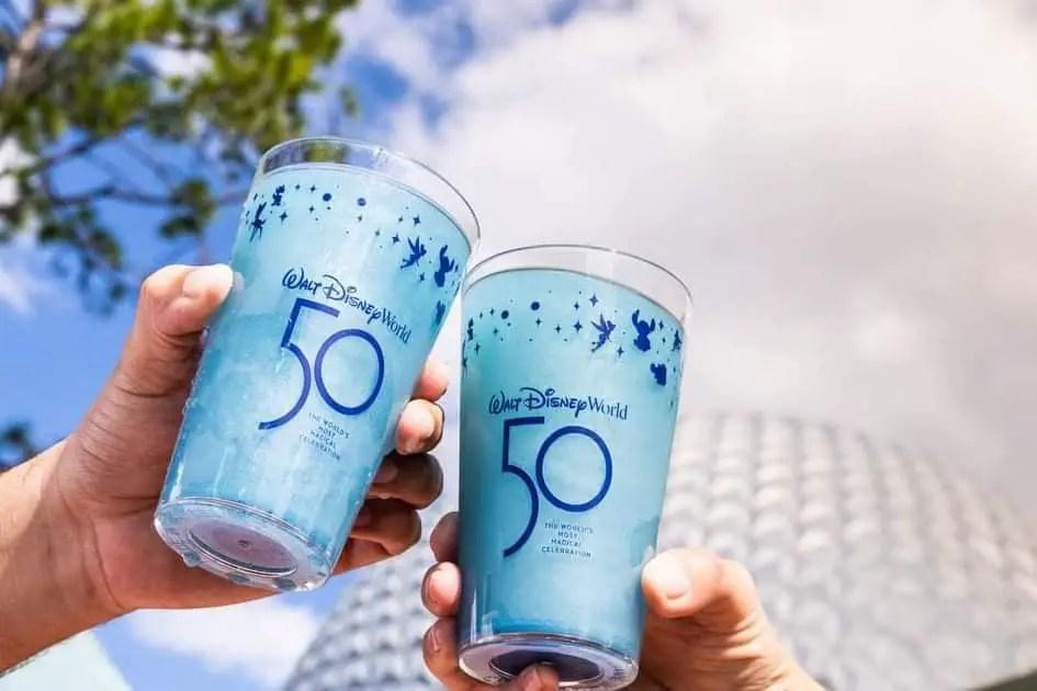 Celebrate Disney World 50th Anniversary At Epcot!