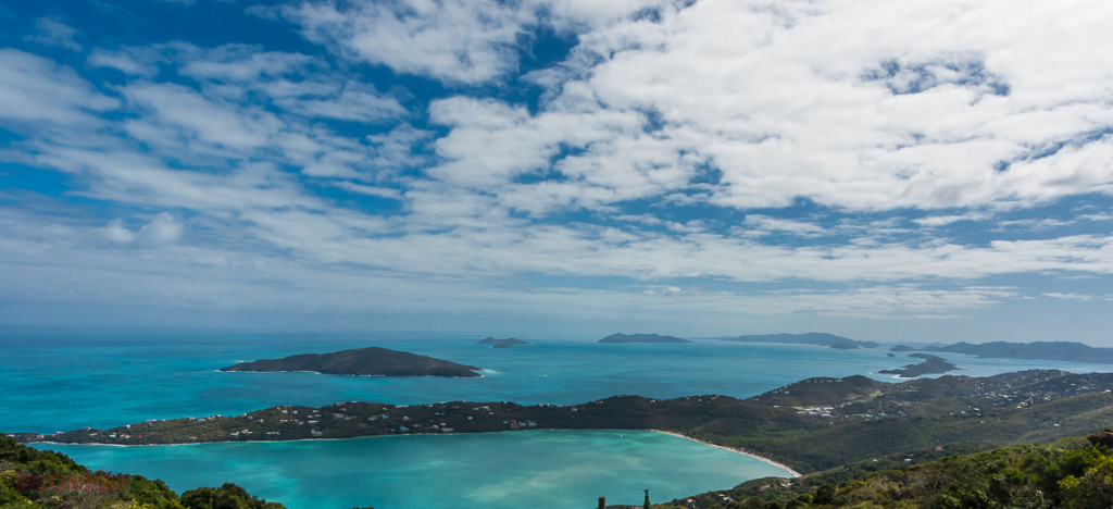 Magens Bay from Mountain Top
