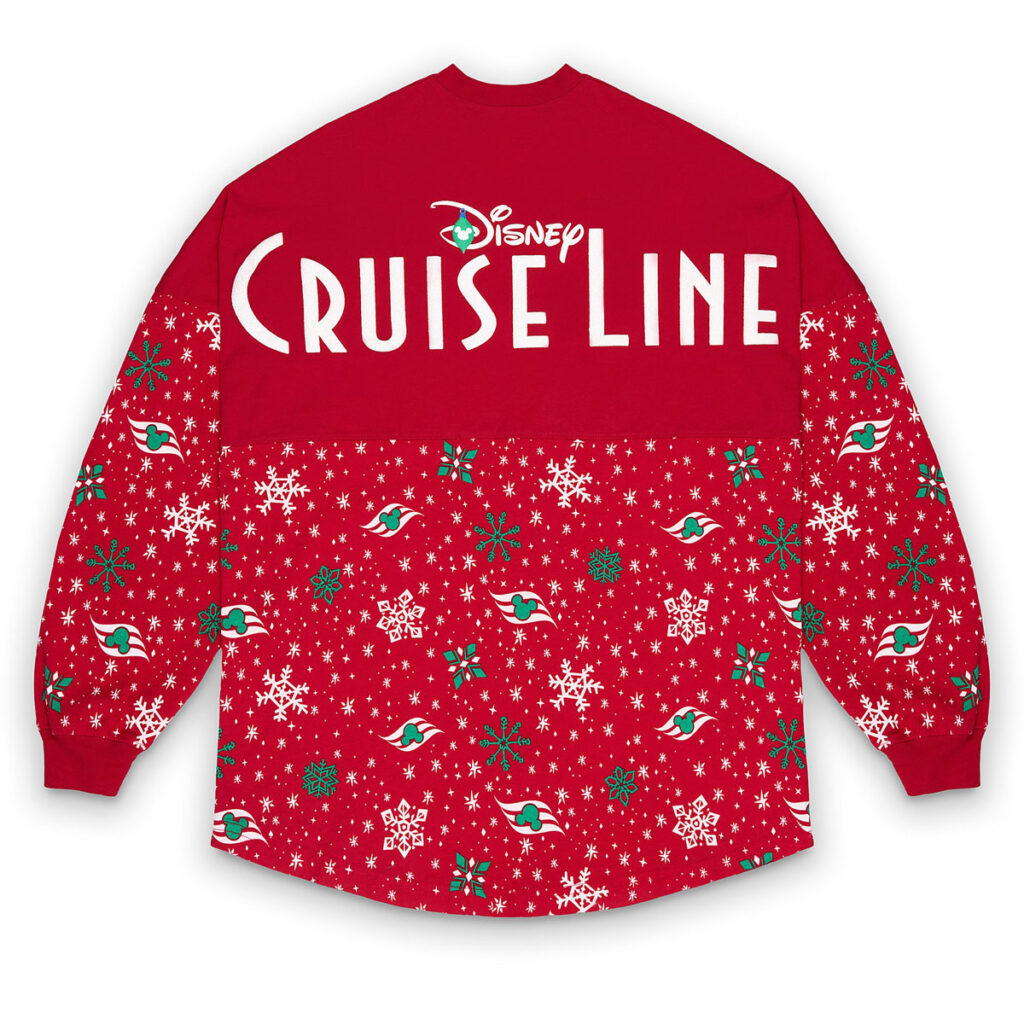 DCL Holiday Spirit Jersey Adult Back