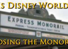 Is Disney Closing the Magic Kingdom/Epcot Monorail