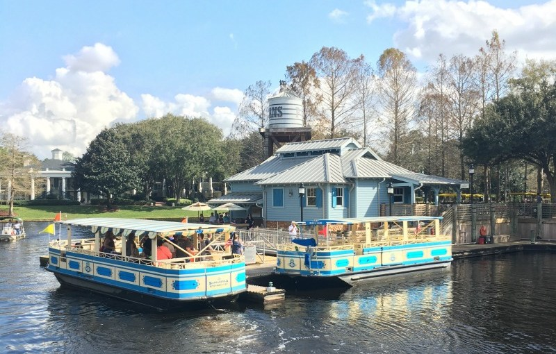 Disney World Transportation Boats