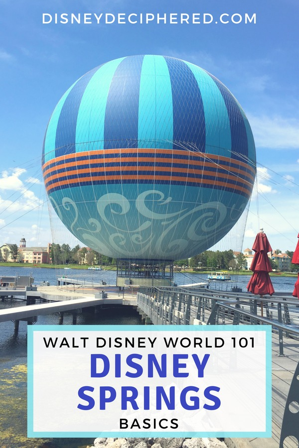 Disney Springs 101 - a beginner's guide to all the Disney fun outside the Orlando theme parks and what to do at Disney Springs. Shopping, restaurants, entertainment, and more. #disney #disneysprings #disneysmmc #orlando
