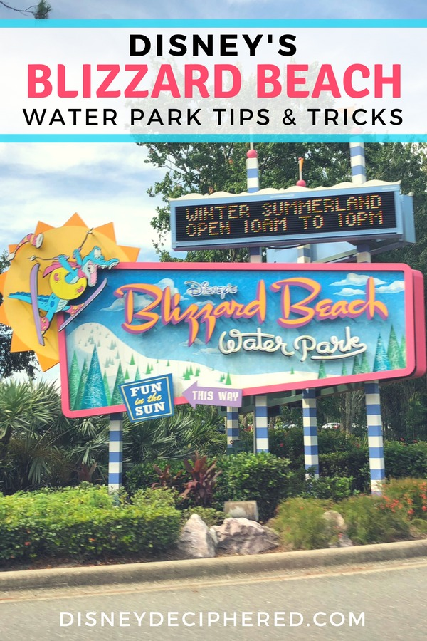 Everything you wanted to know about Blizzard Beach - one of two water parks at Walt Disney World. Top tips, rides and slides, food, and more! #DisneyWorld #BlizzardBeach #WaterPark #Disney