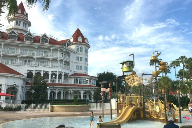 Disney Hotels - Grand Floridian Pool