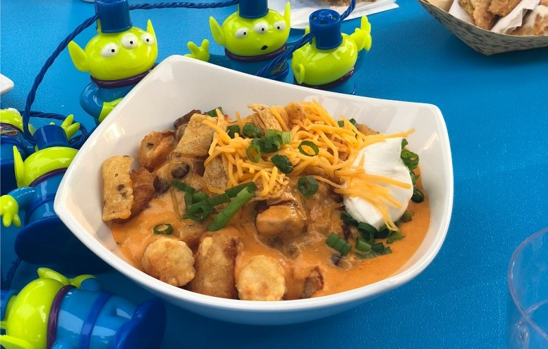 Toy Story Land Totchos from Woodys Lunch Box