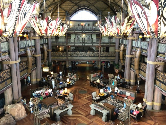 Animal Kingdom Lodge 101 - Jambo House Lobby