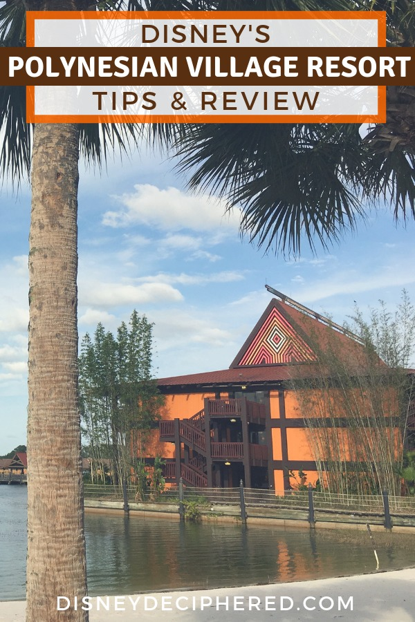 Disney's Polynesian Village Resort - Review and tips for staying at the Polynesian, a deluxe resort on the Disney World monorail loop. Tips for dining at 'Ohana, Trader Sam's, Kona Cafe, and more. Plus a look at the rooms, pool, and other activities on-site. #DisneyWorld #Polynesian #Disney #DisneyHotel
