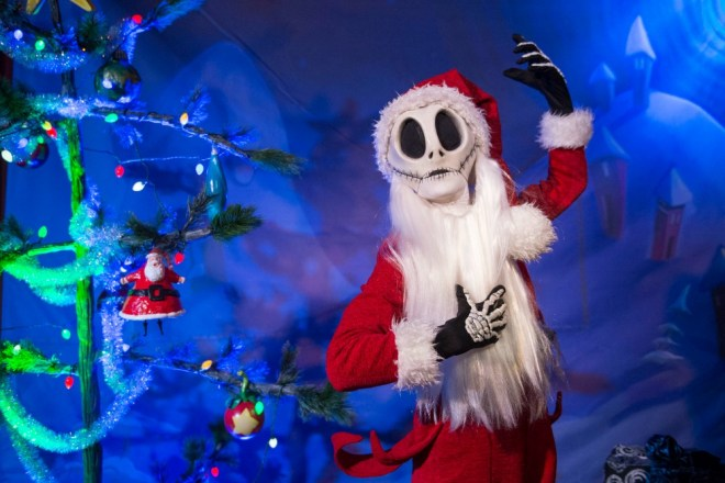 Mickey Very Merry Christmas Party Sandy Claws Jack Skellington