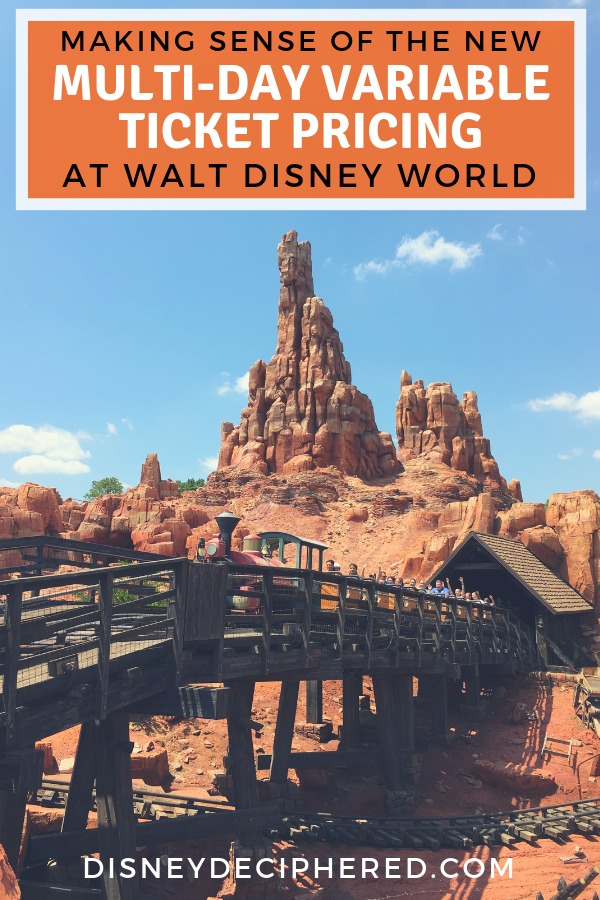 Big changes to Disney World tickets in fall 2018! Multi-day tickets now have variable prices. Learn how the new system works and how to still save money and find discounts on your Disney vacation. #disneyworld #disney