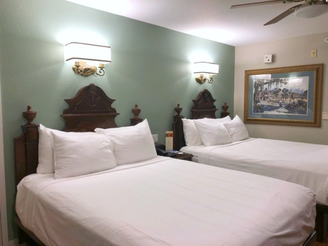 Port Orleans French Quarter and Riverside Resort Review and Tips - French Quarter Two Queen Room