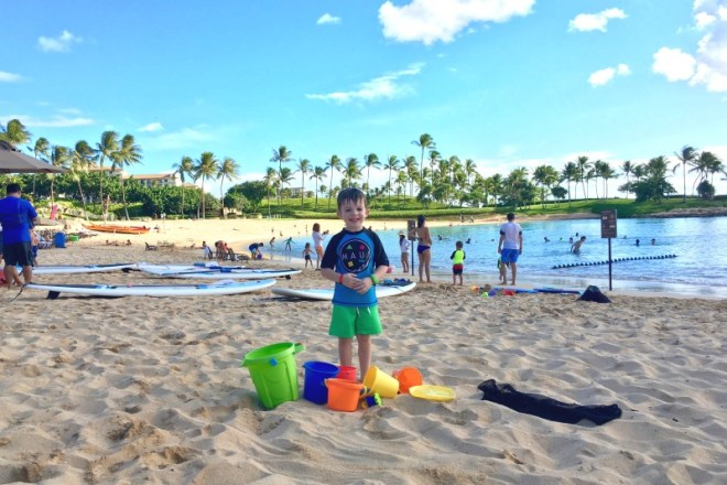 Disney Aulani with Toddlers - Beach Sand Toy Rental