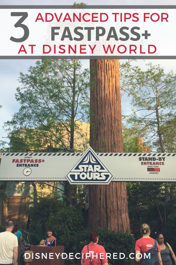 Need an advanced lesson in Walt Disney World Fastpass+? Three important tips you need to stand in line less at Disney. Plus how to get the hard-to-get Fastpass reservations for attractions like Flight of Passage in Pandora and Seven Dwarfs Mine Train. #disney #disneyworld #fastpass #disneysmmc #disneydeciphered