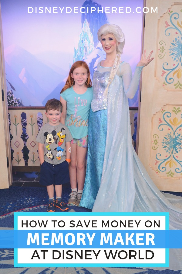 Tips for using Memory Maker and Photopass and Disney World. Plus all the hacks and tricks for saving money on your family photos. #disneydeciphered #disneyworld #waltdisneyworld #memorymaker #photopass