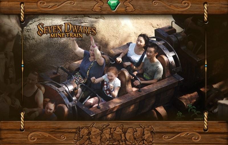 Memory Maker Seven Dwarfs Mine Train