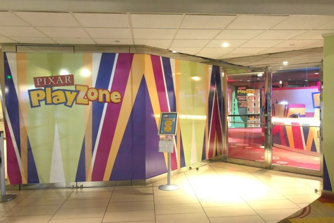 Disney World Date Night - Pixar Play Zone