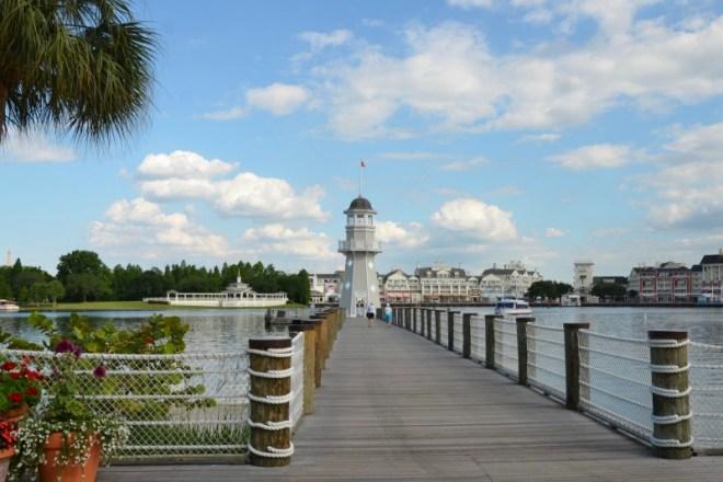 Disney Yacht and Beach - Crescent Lake Dock