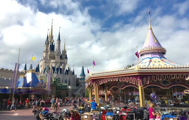 Disney World Fantasyland Carousel
