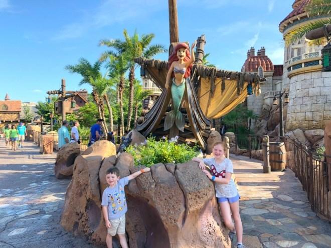 Fantasyland Little Mermaid