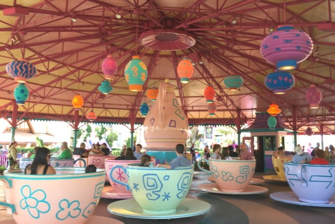 Fantasyland Mad Tea Party