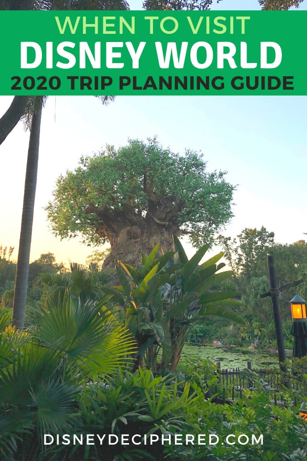 Traveling to Walt Disney World in 2020? Find out the lowest crowd times to visit, plus when new rides and attractions are opening in this 2020 Disney trip planning guide. #disneyworld #disney