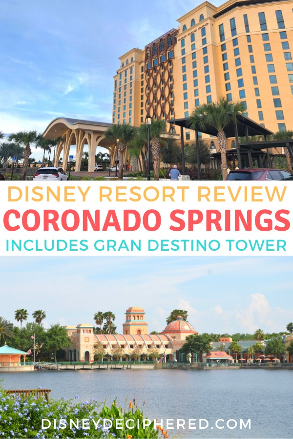 Curious about Coronado Springs Resort at Walt Disney World? A full review of this moderate resort hotel, including the new Gran Destino Tower. New restaurants, club level, and the Dig Site pool. Get tips and find out whether Coronado Springs is worth it for your Disney vacation. #Disney #DisneyWorld #CoronadoSprings #GranDestino