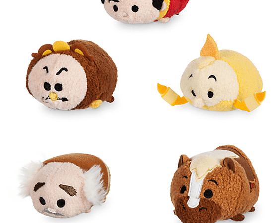 14b3b30c621 Beauty and the Beast Tsum Tsums arrive — along with t-shirts - Disney Diary