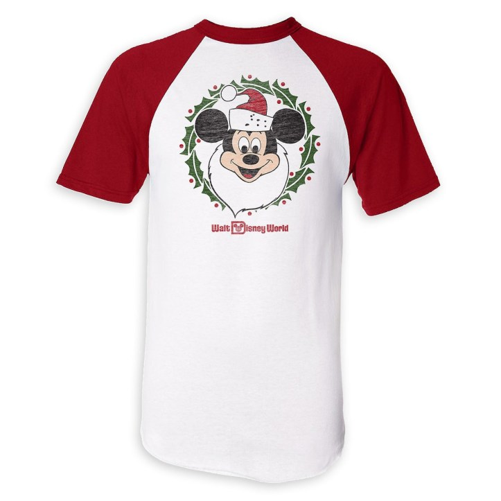 Mickey Mouse Santa T-Shirt for Adults - Walt Disney World - Limited Release