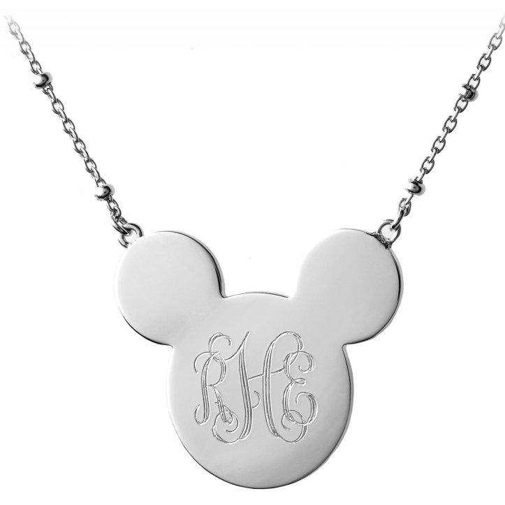 Rebecca Hook monogram necklace