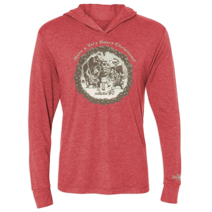Country Bear Jamboree Holiday Hooded Sweatshirt for Adults - Limited Release