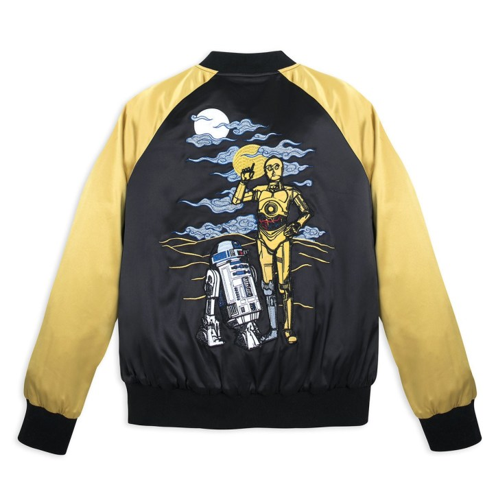 Star Wars 40th anniversary satin varsity jacket from Her Universe