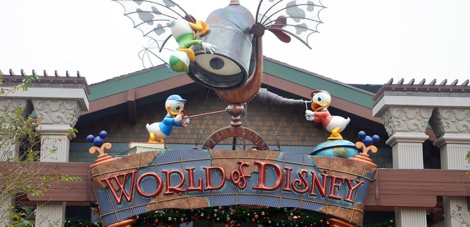 The World of Disney Store in Disney World